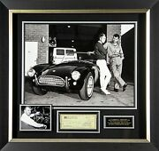 Carroll Shelby Autographed Display
