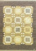 Swedish Flat-weave Carpet By Agda 5and0398 X 8and0391 20th Century 17017