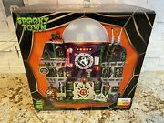 Lemax Spooky Town Ghost Containment Building Complete / Displayed 1 Season