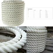 Twisted 100 Nylon Rope | 4 Stage 3-strand High-strength Anchor Line Dock Line