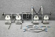 63459-011 / 17000 Piper Pa32r-300 Rudder Pedal Assy Complete W/ Dual Brakes