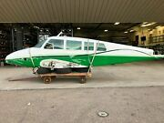 Cessna 320 Fuselage With Bill Of Sale Data Tag Airworthiness And Log Books