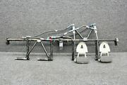 63459-018 Piper Pa32rt-300t Rudder Pedal Bar W/ Dual Brakes Cylinders And Hoses