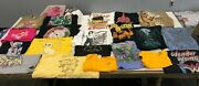 Lot Of 5 Random Menand039s Graphic Tees Licensed T-shirts All Sizes S-3xl Liquidation