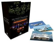 Japan Airlines Jal Fleet Postcard Box 100 Sheets Collectible Issued New