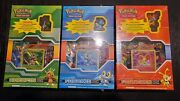 Pokemon Cards Black And White Kalos Region Collector Box Set. 9 Booster Packs