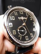 Bell And Ross Ww1-97 Power Reserve 45mm Watch 100 Nib Huge Discount