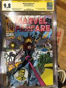 Marvel Fanfare 11 Cgc 9.8 Signed By George Perez