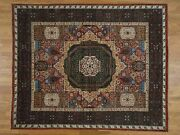 8and0391x10and039 Peshawar With Mamluk Design Hand-knotted Pure Wool Oriental Rug R36935