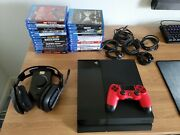 Ps4 Mega Bundle W/25 Games And Astro A40 Headset + Mixamp