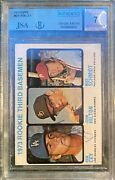 Mike Schmidt And Ron Cey Signed 1973 Topps Rookie Card 615 Hof Rc🔥beckett 7 Auto