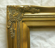 Picture Frame- 11x14 Ornate- Classic Gold Color W/ Liner- Wood/gesso- 637gm