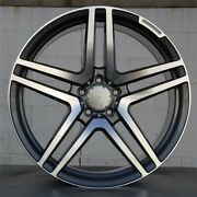20 S65 Amg Style Wheels Rims Fits Mercedes Benz S Class 99-05 S430 S500 S320