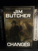 Dresden Files Changes By Jim Butcher 1st Edition