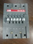 Abb A130-30-11-75 Contactor 140 Amp 600 Vac 24 Vdc Coil 125 Hp New Take-out