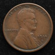 Kappyscoins G2054 1914s Ef Xf Lincoln Head Cent Up Grade Today