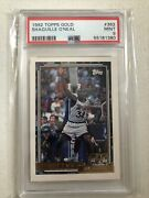 1992-93 Topps Gold Shaquille O'neal Rookie 362 Psa 9 Mint Rc Orlando Magic