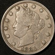 1883 With Cents Liberty Nickel Clean Original Suraces