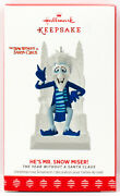 He's Mr. Snow Miser New Hallmark 2017 Ornament The Year Without A Santa Claus