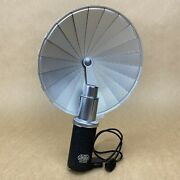E. Leitz Wetzlar Flash Fan W/ Reflector And Cable For Leica Rangefinder Cameras