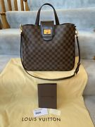 Authentic Louis Vuitton Cabas Rosebery Damier Ebene Brand New Never Used
