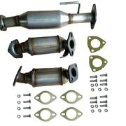 Catalytic Converter 3pc Set Fits 09-17 Buick Enclave 3.6l Brand New Direct Fit