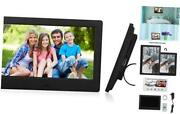 Digital Picture Frame Ips Hd Electronic Photo Frames With Usb 7 Inch Black