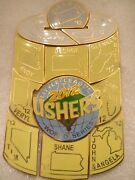 2012 Usher Can Little League World Series Puzzle Pin Set