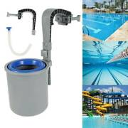 Swimming Pool Leaf Cleaner Wall Mount Surface Skimmer Above Ground Debris Br