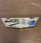 1963 Ford Galaxie Country Squire Emblem Roof Side Front Fender