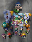 Nickelodeon Huge Lot Of Bubble Guppies -plush -'rollers' -pvc- Book- Free Ship
