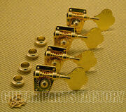 Gb400-g4l 4-inline Gold Bass Tuners W/ Mounting Hardware
