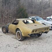 1972 Corvette Cowl Back Body Complete Manual Transmission Rolling Chassis Parts