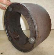 10 Bolt On Pulley For Fairbanks Morse Z, T, Or H Old Hit Miss Gas Engine Nice