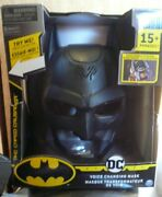 Batman Voice Changing Mask With Over 15 Sounds Dc Comics Creature Chaos