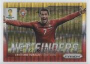 2014 Prizm World Cup Net Finders Yellow And Red Pulsar Prizms Cristiano Ronaldo