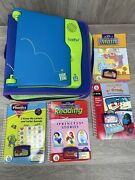 Leapfrog Leappad Learning System Model 57-000-01 With Bag And 4 Books/games