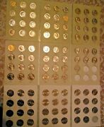 Kennedy Half Dollar Set 1964 To 2021 P And D Complete 108 Coin Set
