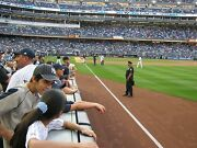 You Pick 9-game Plan 2 - Field Level Sec. 109 Row 1 New York Yankees Tickets