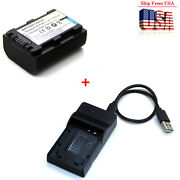 Battery / Charger For Sony Handycam Hdr-sr5 Hdr-sr7 Hdr-sr8 Hdr-sr10 Hdr-sr11
