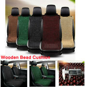 1x Natural Wooden Beaded Car Seat Cover Support Massage Pad Cushion All Seasons