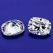 5x710x14mm White D Color Vvs1 Cushion Cut Moissanite Stone For Ring And Pendant