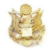 Ann Hand Sterling Silver Gold Special Edition 2004 Eagle Potus Pin Brooch Lhl4