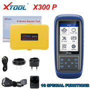 Xtool X300p Car Obd2 Diagnostic Scanner Abs Battery Maintenance Light Reset Tool