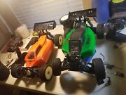 Rc Cars Electric 1/8 Associated Rc8.2e Thunder Tiger Mt4-g3