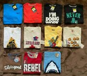 11 Nike Wes And Willy Crazy 8 Lig T-shirts Muscle Tee Baseball Beach Boys S 8 Lot