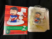 Dept 56 Peanuts 2013 Christmas Village Lucy And Snoopy's Christmas Kiss 4032414