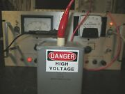 5kv 6uf High Voltage Capacitor Tested 5000vdc Made In Usa Plastic Capacitors Co