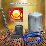 6kg 1300℃ Gas Melting Furnace Kit Propane Forge Jewelry Casting Tool For Metal