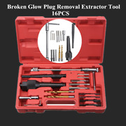 1 Set Engine Glow Plug Assembly Disassembly Repair Removal Tool Set Steel+alloy